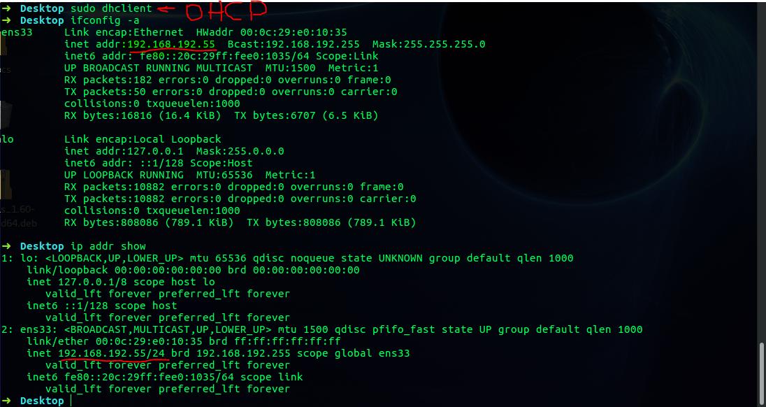 how to find ip address ipconfig