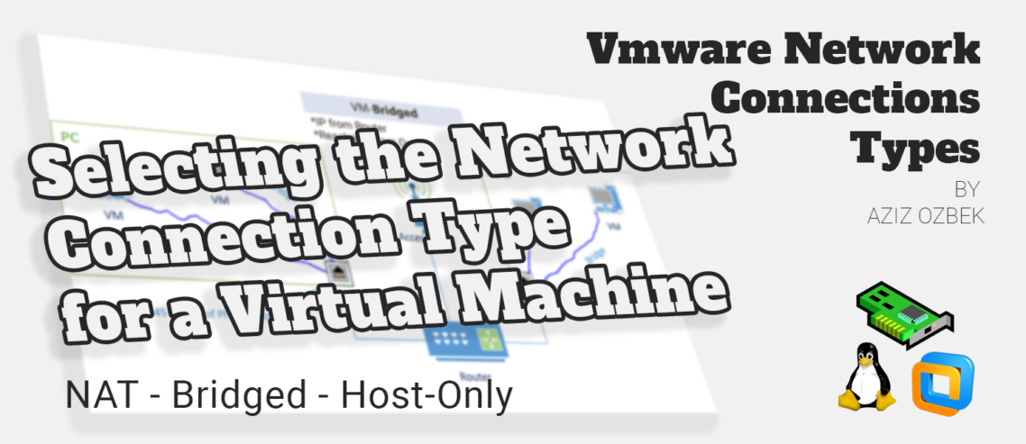 Vmware Network Connections Types - Graphical Samples | Aziz